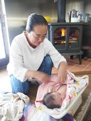 自宅出産のイメージ